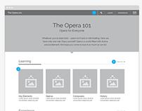 The Opera 101