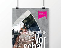 Event Preview Konzerthaus brochure