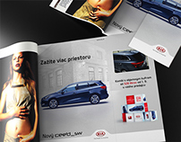 Kia Advertising Visuals