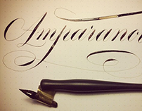 Some Copperplate Calligraphy