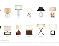 Various Portable Lamp Designs