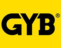 GYB branding