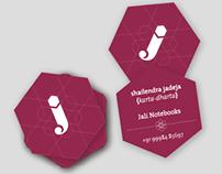 Visual Identity: Jali Notebooks