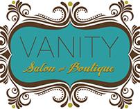 Vanity Salon logo