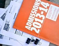Publication Design: NID Admissions 2013-14