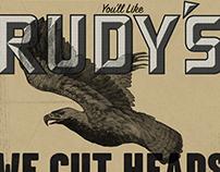 Rudy's Barbershop Identity