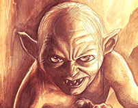Lord of the Rings Character Illustrations