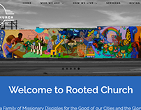 Rooted Church Website Design