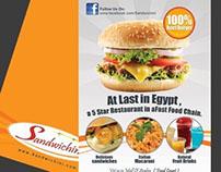 Sandwichini Fast Food @ Mall of Arabia