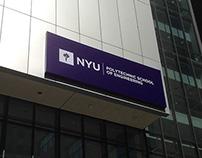 NYU Exterior Signage & Map Design