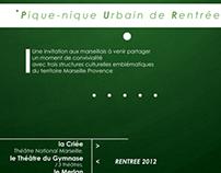 dossier de presse / événementiel pour le WaaW Marseille