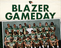 UAB Football Program Covers 2011