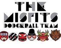 Misfit Dodgeball Team Characters!