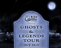 Ghosts and Legends Color Print Ad