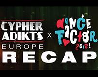 Cypher Adikts & Dance Factor recap for redbull.sk