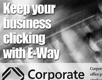 Corporate Express Newspaper Ad