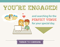 Choosing a Wedding Venue (Infographic)