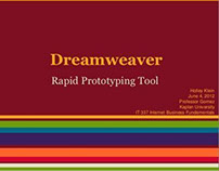 Dreamweaver - Rapid Prototyping Tool