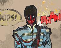 Deadpool is a Beatle?