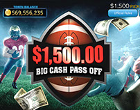 Big Cash Pass off