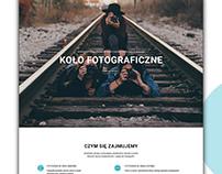 Koło fotograficzne - strona responsywna