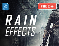 Cinematic Rain Effects (PS Action)