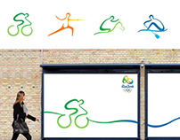 Rio 2016 Pictogram Design