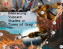 Embracing Vibrant Shades in Times of Gray
