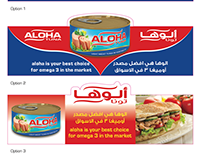 Shelf Talker - Aloha Company