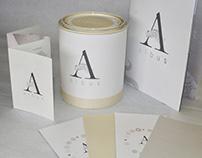 'Albus' Paint Brand