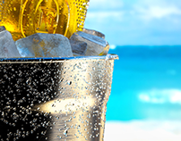 Fosters Gold /// 3D Creative visuals and Advertising