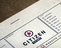 Citizen Pictures // Print Identity // Citizen