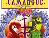 Étiquettes vins Camargue