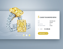 Product card - diamond ring