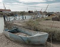 Le Port de La Tremblade en Charente Maritime - France