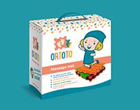 Logo & Branding for ORTOTO. Riga, Latvia.