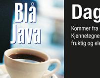 Topplakat kaffe