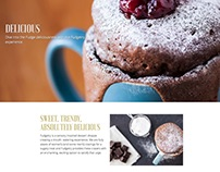 Coffee shop website project