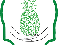 Pineapple Home logo mock up