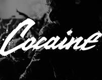 Cocaine - calligraphy