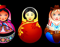 Matryoshkas of the World