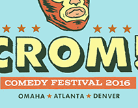 2016 Crom Comedy Festival Logo