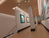 Galería de arte 3D