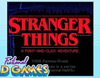 Stranger Things - Fictional Bad Games