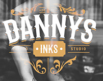 Danny's Inks Tattoo Studio Logo