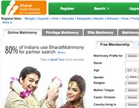 SPOKEN WEB application for Bharat Matrimony
