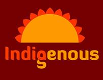 INDIGENOUS( visual identity )