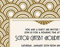 Gatsby Holiday Party
