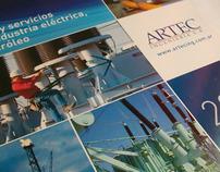 Artec Ingenieria. Brochures, Calendars