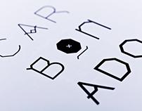 Carbonado typeface